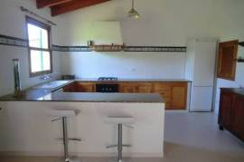 Family friendly country house with child safe pool and sports ground